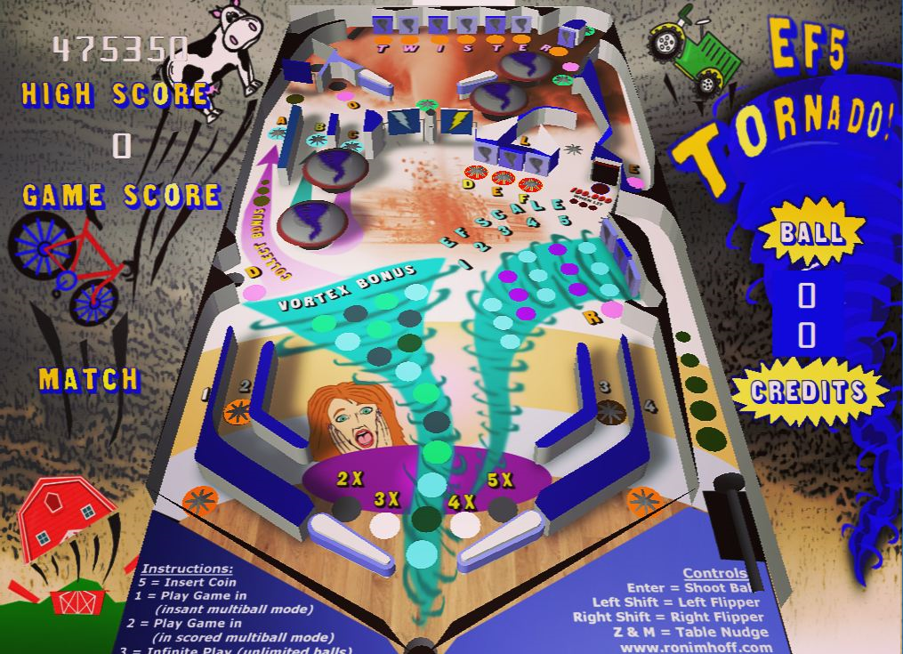 Visual Pinball Tables by Ron Imhoff - Ron Imhoff
